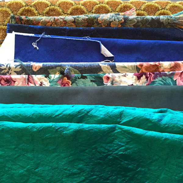 Sourcing Reclaimed Fabric